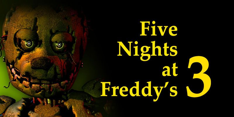 Five Nights at Freddy's 3 Game