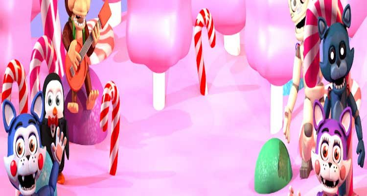 Five Nights at Candy's World: The Adventure (ORIGINAL FALLING MOON EDITION) Free Download