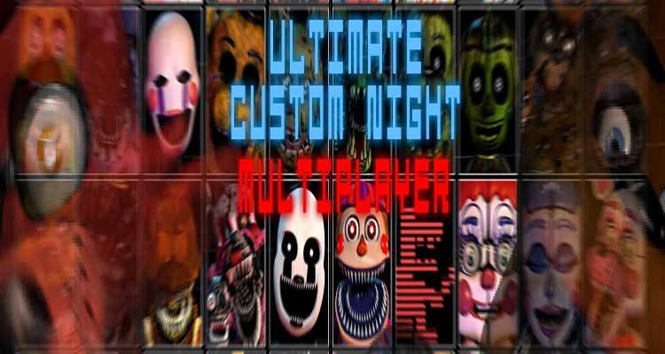 FNaF Ultimate Custom Night: Multiplayer Free Download