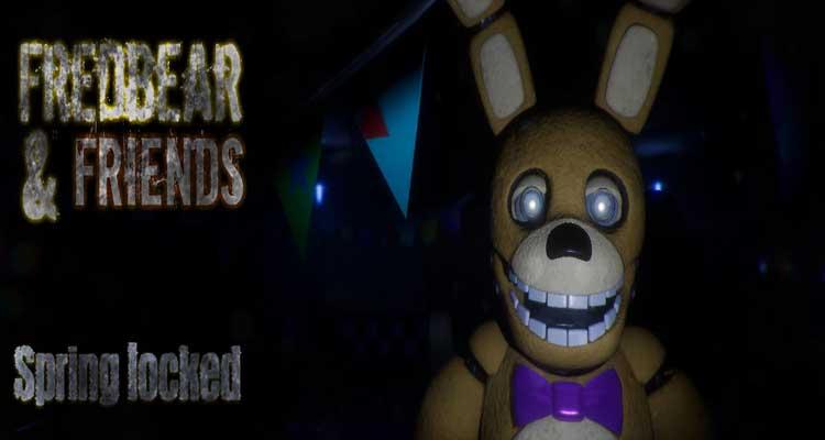 Fredbear and Friends : Spring locked
