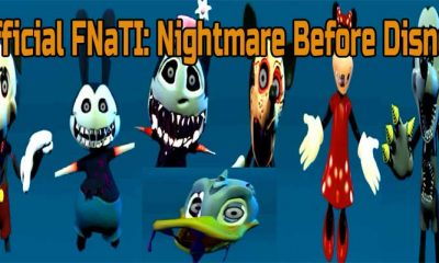 Official FNaTI: Nightmare Before Disney