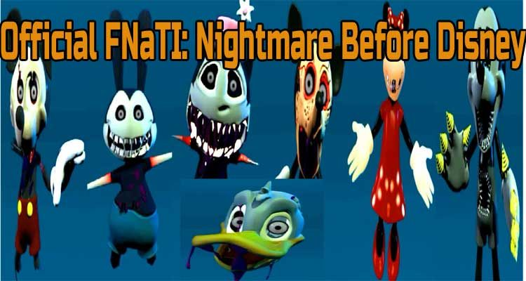Official FNaTI: Nightmare Before Disney Free Download