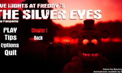 Five Night's at Freddy's: The Silver Eyes Fangame