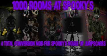 1000 Rooms at Spooky's – A SHoJ FNaF mod! Free Download