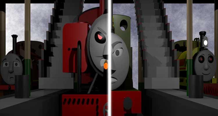 Five Nights at Smudger's 4/World: Engines at war/Smudger vs Stanley
