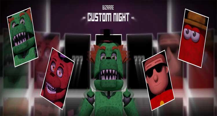 LU | Bizarre Custom Night