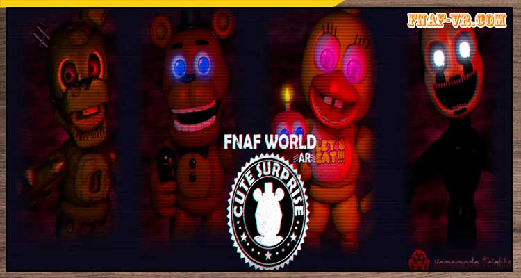 Five Nights at Freddy's World AR